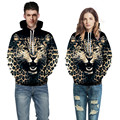 Hip hop funny clothing 3D Galaxy digital printing realistic leopard hoodies mens/women/boys and Harajuku sweatshirts size 3XL