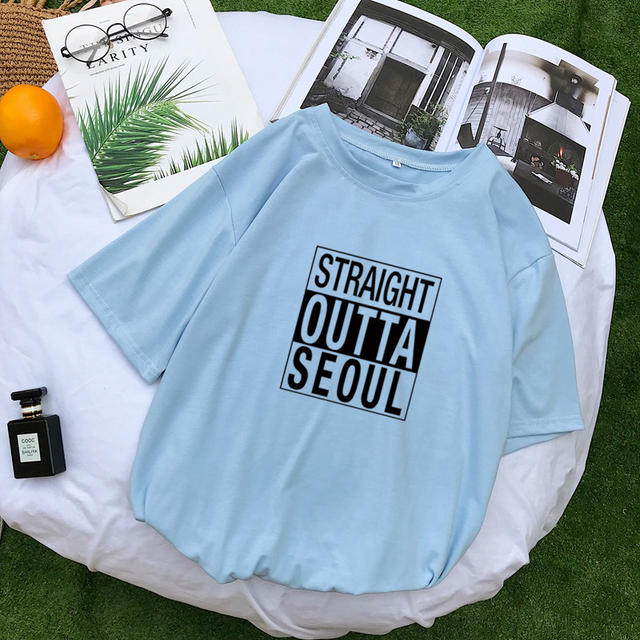STRAIGHT OUTTA SEOUL T-SHIRT (5 VARIAN)