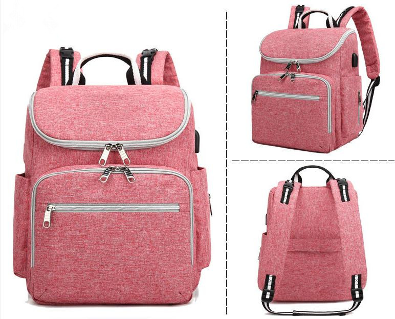 Promotion! Baby Diaper Bag Nappy Stroller Bag With Large Capacity Mummy BackPack Multifunctional Baby Nursing Bag