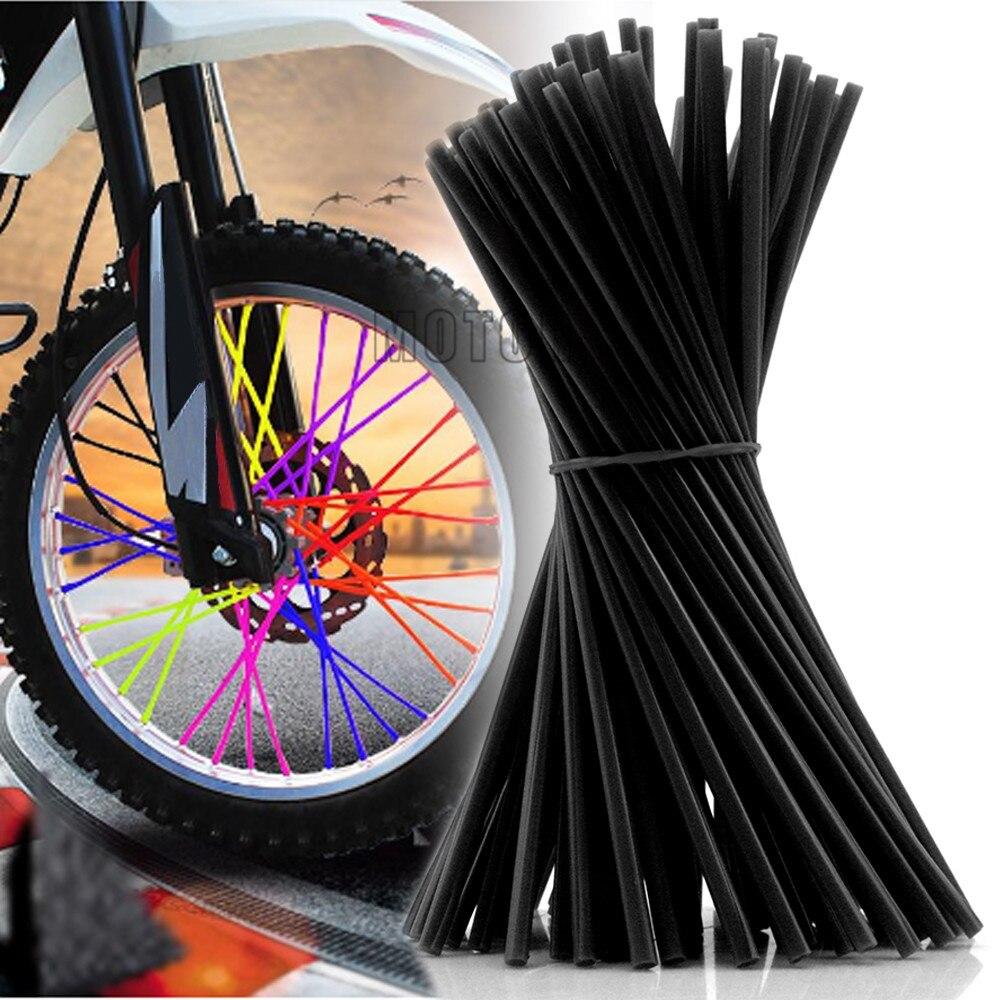 Motocross Wheel Trims Spoke Skins Cover Dirt Bike For HONDA KAWASA BETA BENELLI