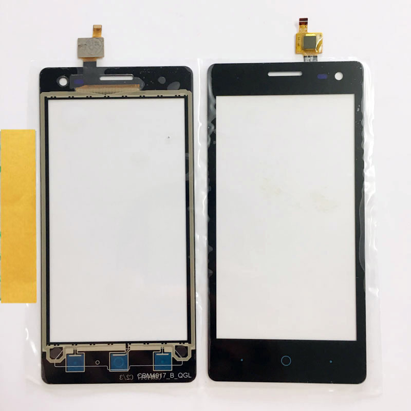 New Touch Screen For ZTE Blade GF3 GF 3 Touchscreen Sensor Digitizer Panel Glass Front Panel