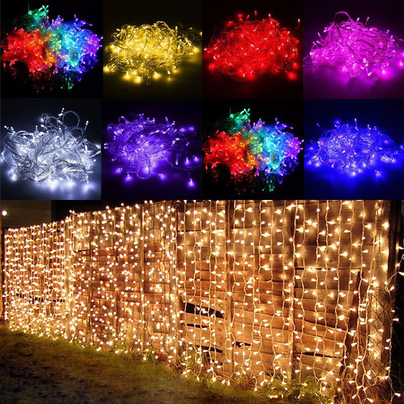 Z20 3x3m LED Wedding fairy Light christmas garland LED Curtain string Light outdoor new year Birthday Party Garden Decoration 3x3m led curtain string light fairy new year christmas garland decoration led waterproof lamp wedding party indoor outdoor decor