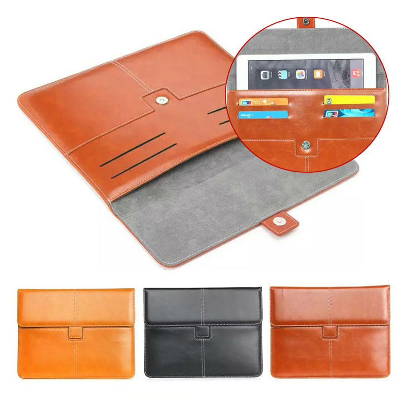 Newest 7'' 8'' Universal Sleeve Bags Stand Leather cover case For Alcatel ONETOUCH ONE TOUCH Hero 8 Android cases S2D48D