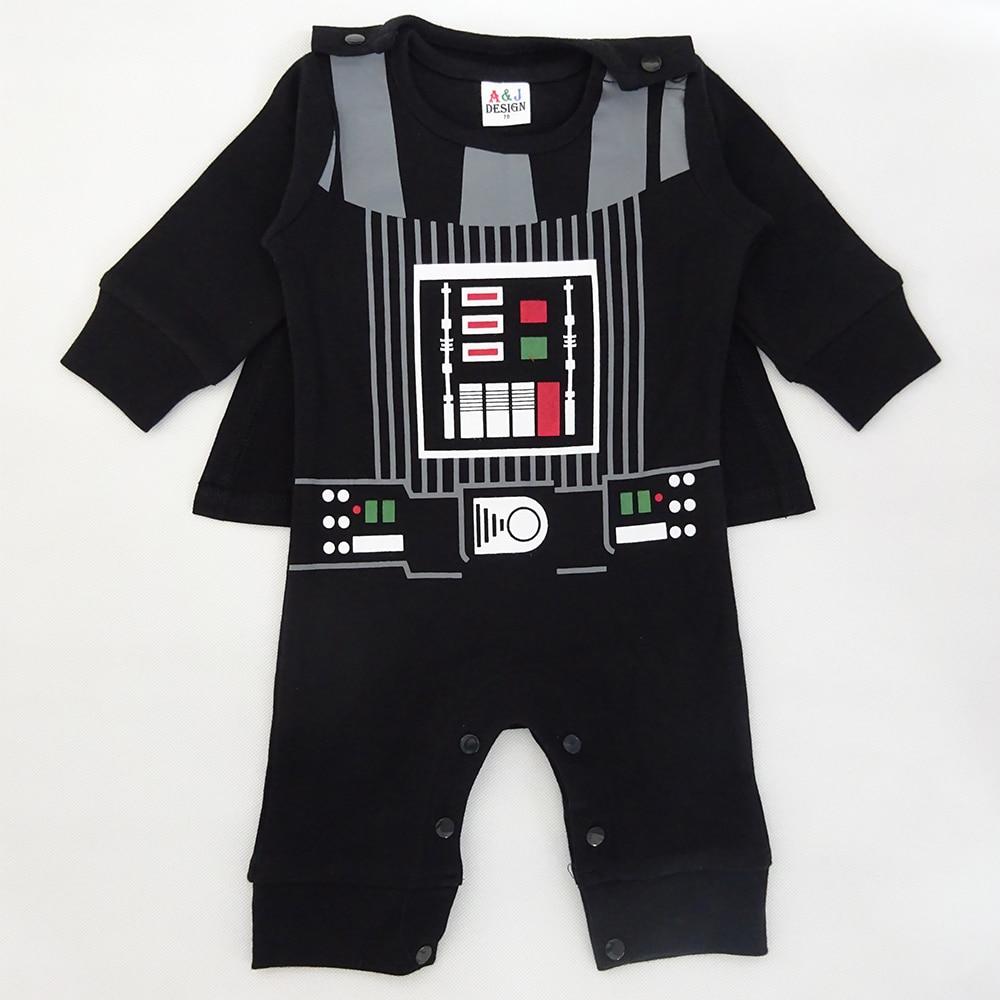Baby Boy Darth Vader Costume Romper Infant Star War