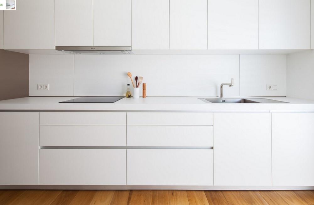 2017 Contemporary White Color High Gloss Lacquer Kitchen Furniture Modern Kitchen Cabinet L1606041