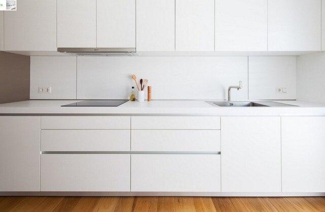 Keukenkast Wit Hoogglans : Hedendaagse wit kleur hoogglans lak keuken meubels moderne