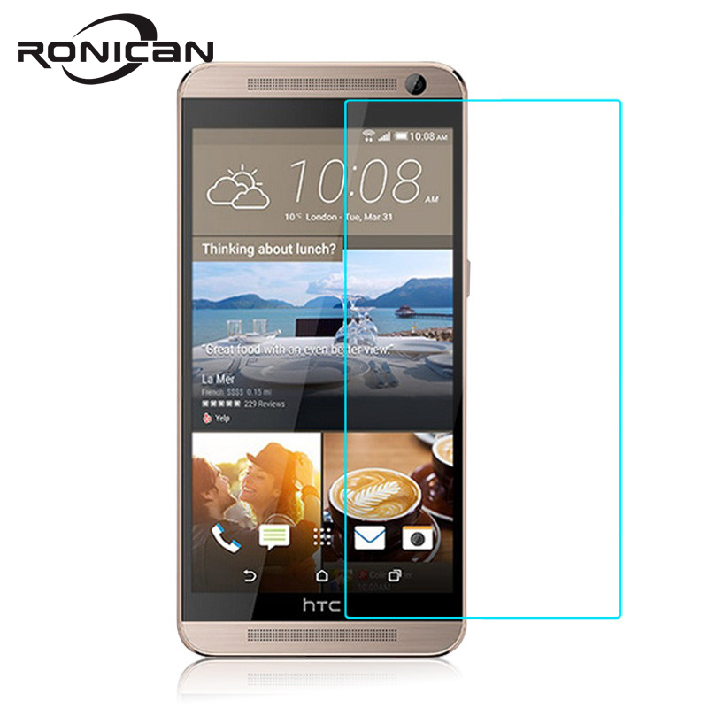 RONICAN GLASS on HTC One E9+ E9S E9 Plus A55 Dual Sim Screen Protector 2.5D 9H Explosion-proof Tempered Glass Protective Film   RONICAN GLASS on HTC One E9+ E9S E9 Plus A55 Dual Sim Screen Protector 2.5D 9H Explosion-proof Tempered Glass Protective Film
