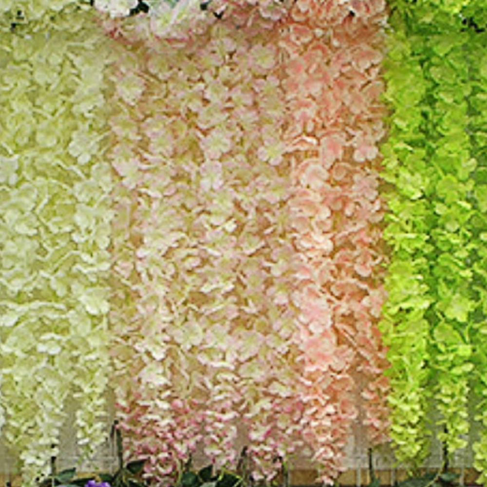 100 CM Artificial Flower Wall Wedding Living Room Garden Hotel ...