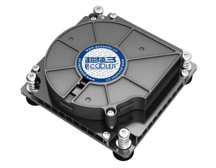 100% new Pccooler C81H CPU cooler for Intel LGA 1155/1156/1150,1U Server heatsink 1 5u server cpu cooler copper radiator heatsink for intel 1150 1155 1156 active cooling