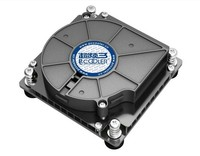 100% new Pccooler C81H CPU cooler for Intel LGA 1155/1156/1150,1U Server heatsink