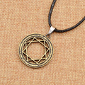 Japanese Anime The Labyrinth of Magic Magi's Pendant Necklace Faux Leather String Cosplay Jewelry