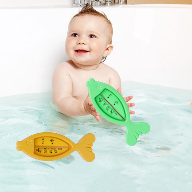 Baby Bathing Thermometer Newborn Cartoon Dolphin Shape Toys Home Safety Tools
