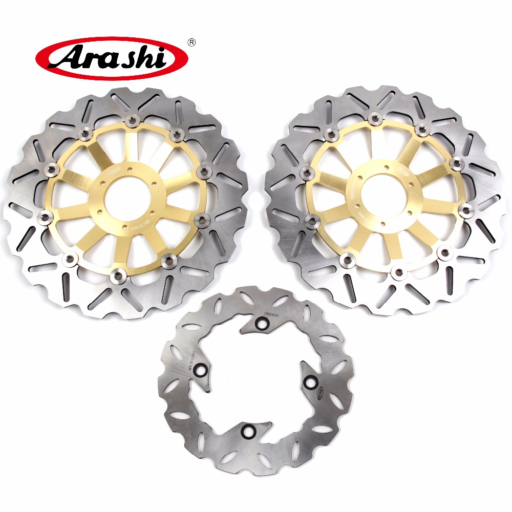 Arashi 1 Set For HONDA CBR900RR 1994 1995 1996 1997 CBR 900 RR CNC aluminum Front Brake disk & Rear Brake Disc Rotor 2 pieces motorcycle front disc brake rotor scooter front rear disc brake rotor for honda cb400 1994 1995 1996 1997 1998