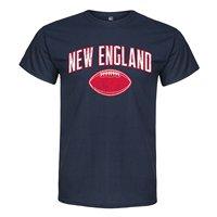 New England Footballer Adult Mens 100 Cotton Short Sleeve Print Men Summer T Shirt Sleeves T