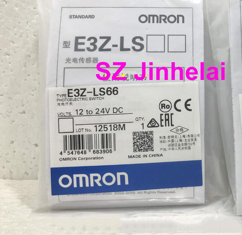 OMRON E3Z-LS66 Authentic original Photoelectric switch OMRON E3Z-LS66 Authentic original Photoelectric switch