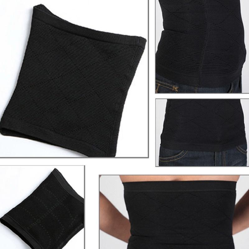 Men's Back Support Brace Belt Lumbar Lower Waist Double Adjust Back Pain Relief Waist Support New Sport Accessories 8