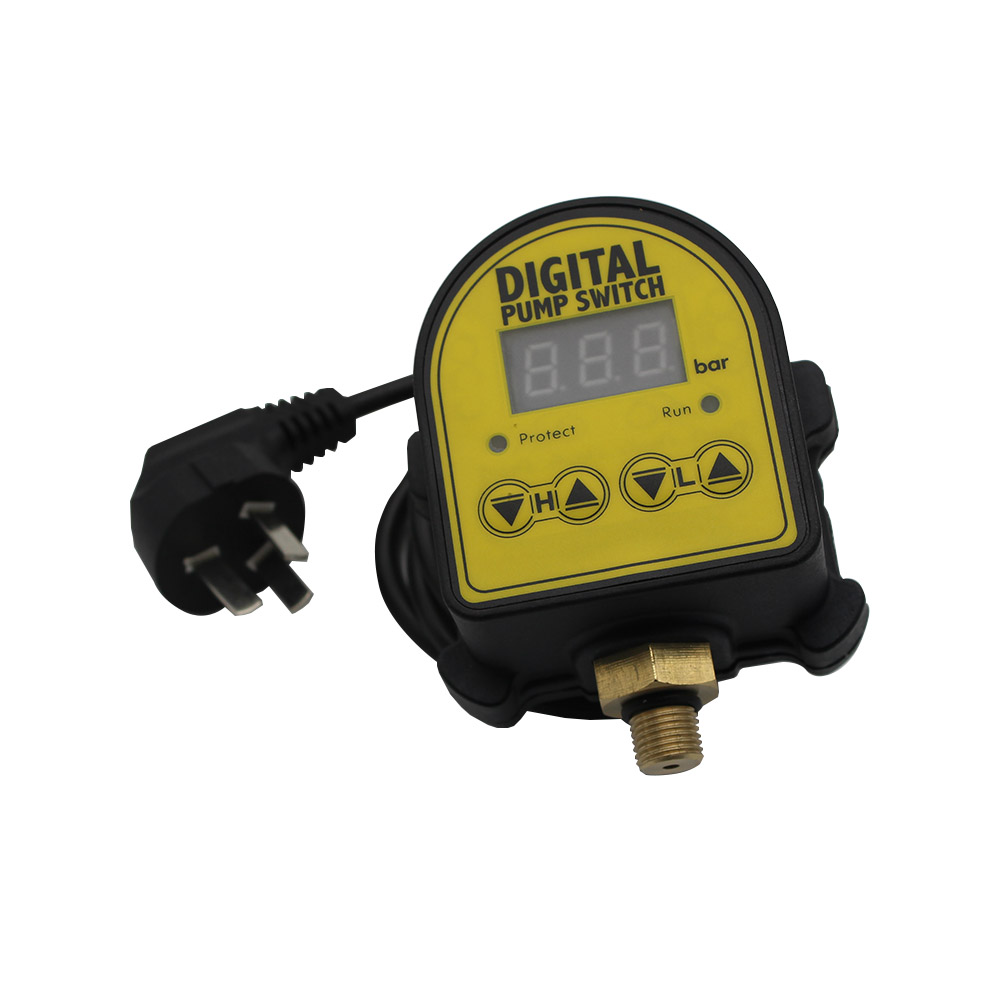 Digital Pressure Control Switch  Digital Display   Eletronic Pressure Controller for Water Pump With G1/4Adapter dmx512 digital display 24ch dmx address controller dc5v 24v each ch max 3a 8 groups rgb controller