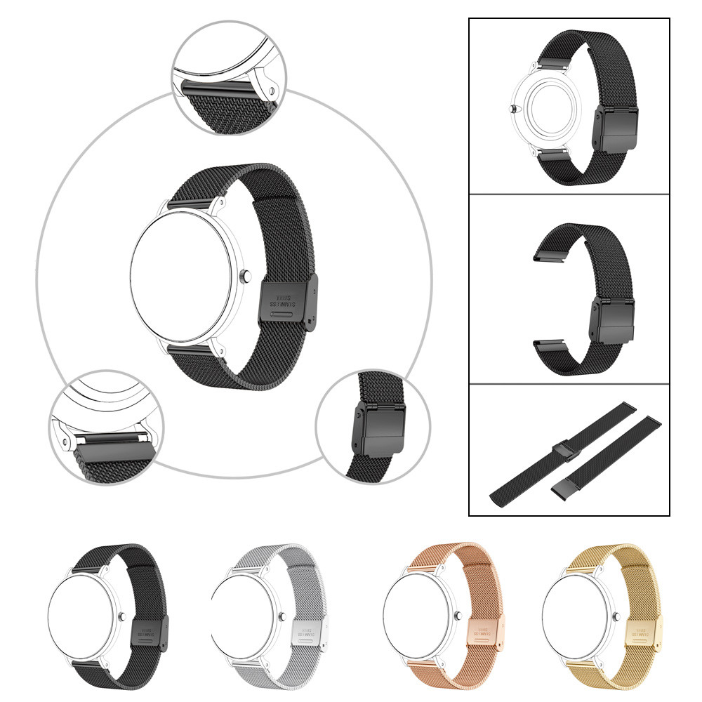 Watch Strap New Fashion 14mm Magnetic Stainless Steel Watch Band For Daniel Wellington Classic Petite Watchbands 2018 Hot Sale