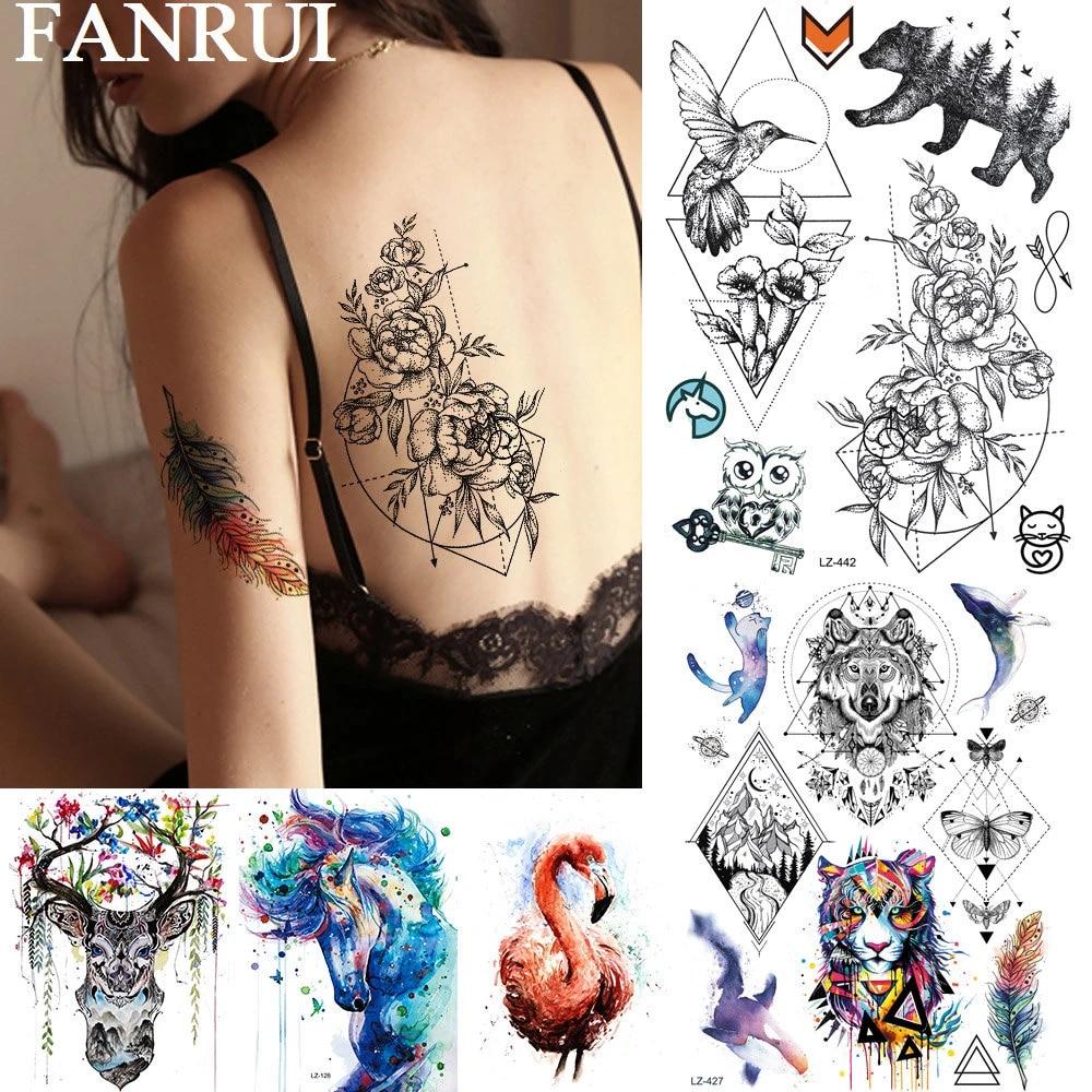 Bein frauen tattoos Tattos &