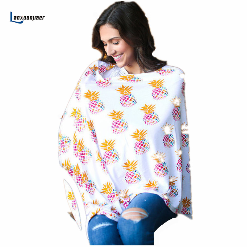 Lanxuanjiaer Breastfeeding Cover Nursing Covers Shawl Breast Feeding Printed Nursing Covers Baby Feeding Care Covers Go out lact