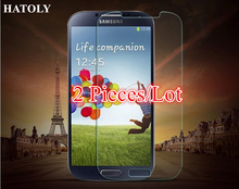 2pcs Tempered Glass Screen Protector For Samsung Galaxy S4 i9500 i337 M919 i545 Ultra Thin HD Toughened Protective Film