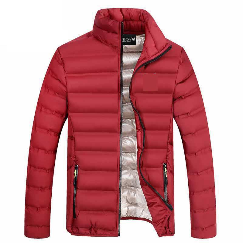 Winter Cotton Jacket Men 2017 New Year Men