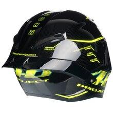 Гоночный шлем черепаха, мотоциклетный шлем с полным лицом, в горошек, одобренный, для мотокросса, для горных прогулок, мотоциклетный шлем, мотоциклетный шлем