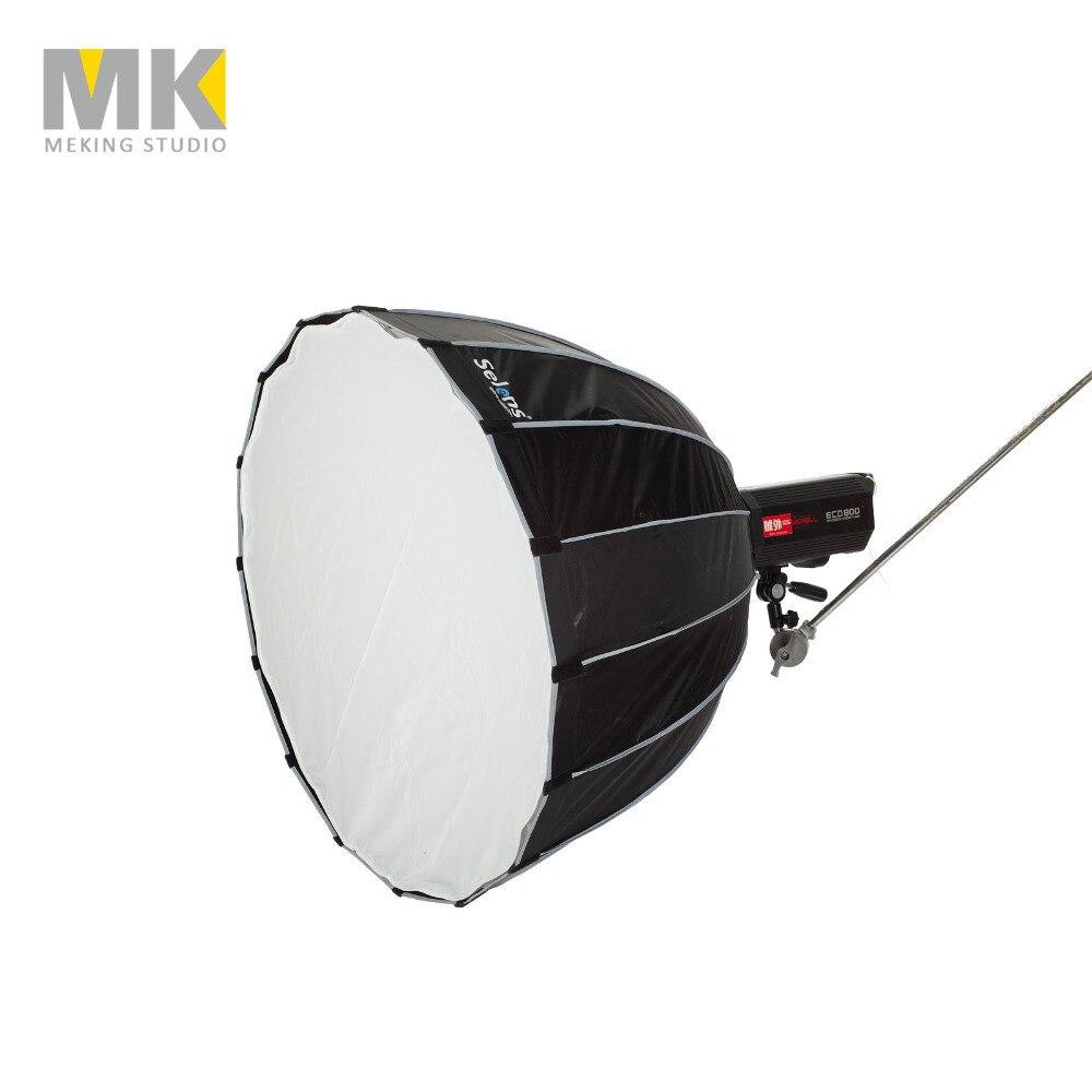 цена Selens 90cm Difusor Soft Box Hexadecagon Umbrella Softbox Bowens/BaoJia/Elinchrom Mount Strobist Professional Studio Equipment онлайн в 2017 году
