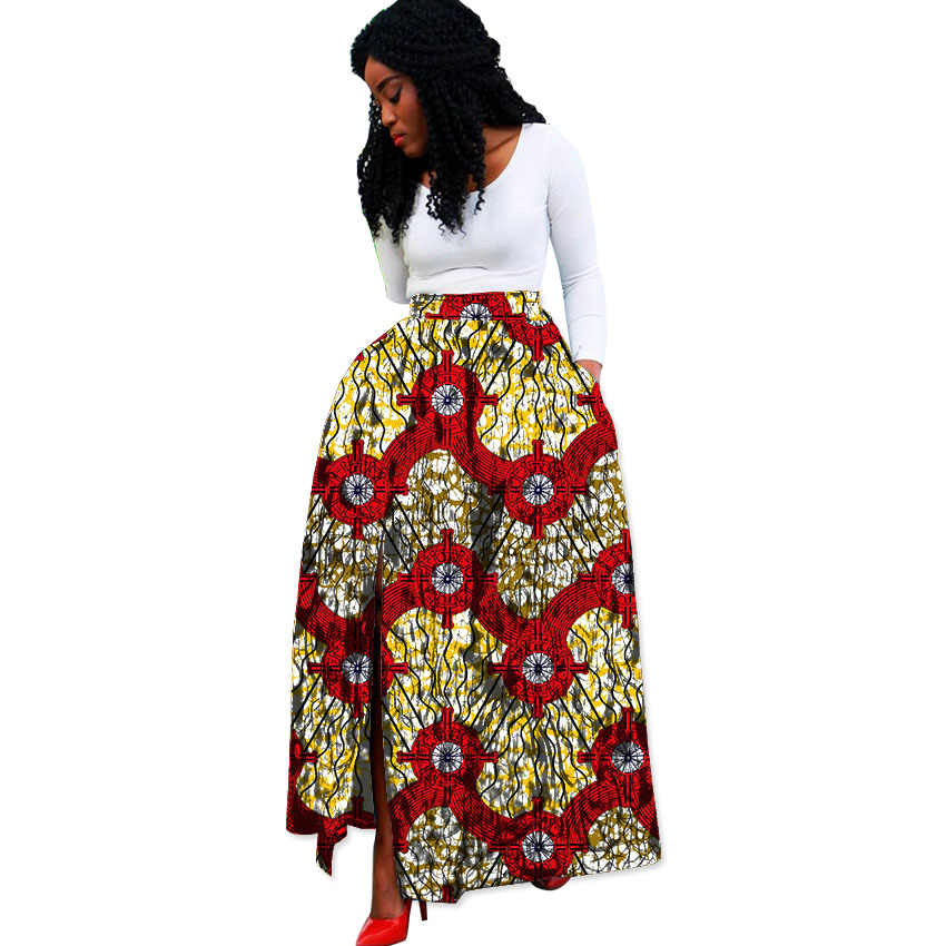 Fashion African Print Women Skirts Ladies Dashiki Clothes Festive Costume African Design Custom Made African Skirts Women Aliexpress