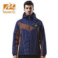 MERRTO зимняя водостойкая теплая уличная куртка для мужчин лыжный спорт треккинг походные куртки Рыбалка Путешествия быстросохнущая ветроза