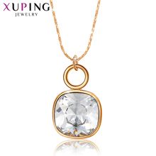 Xuping Elegant Charming Style Crystals from Swarovski Gold-color Plated Pendant for Women Valentine's Day Gifts S162-3020 цена
