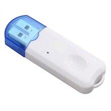 USB Bluetooth muzyka Stereo odbiornik bezprzewodowy Adapter Audio Dongle Kit wbudowany mikrofon do głośnika do telefonu samochodowego