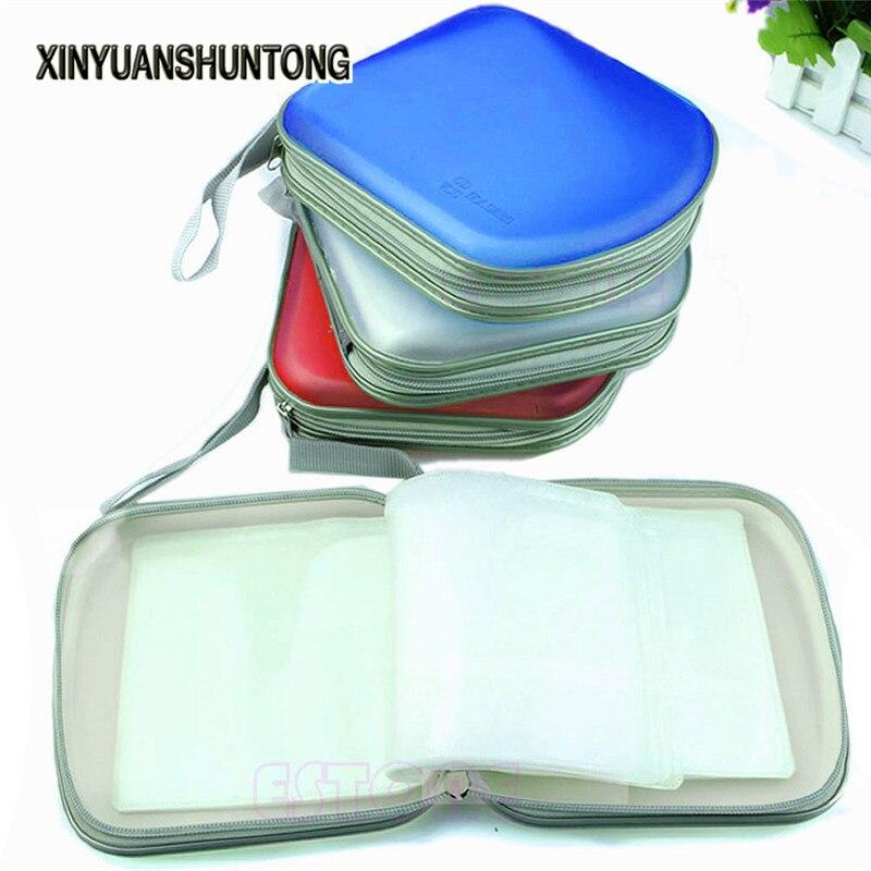 XINYUANSHUNTONG DVD Player Bags 40 Disc New DVD Bag CD VCD Case Plastic Box Wallet Storage Organizer Album