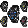 2016 Hot sale elegant brand quartz watch Men LED Analog Digital Waterproof Sport Watch Wristwatch Backlight Wrist Watch Sep 26