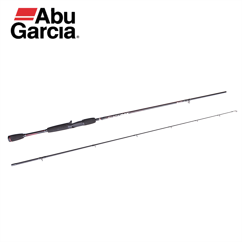 Abu Garcia Black Max Graphite SS Guides SIC Inserts 100% Origin Pole M Power Fast Action Lightweight Saltwater BMAX Fishing Rod все цены
