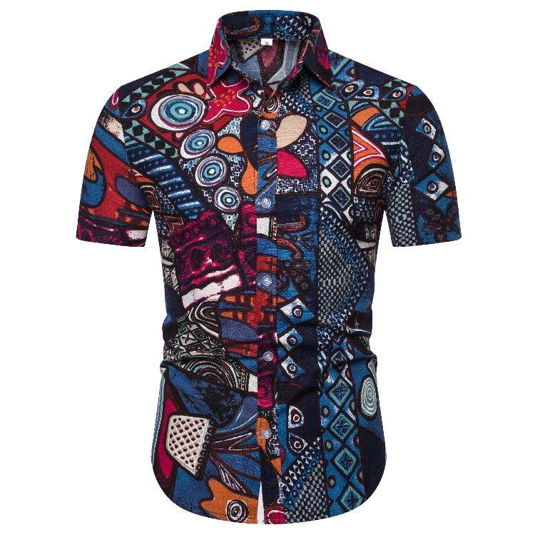 Summer New model Shirts Men 39 s clothes Slim fit Social Shirt for Men Blouse Men Casual New in Casual Shirts from Men 39 s Clothing