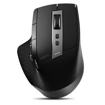 Rapoo MT550 MT750S multi-mode bezprzewodowa mysz Bluetooth 3 0 4 0 i 2 4G przełącznik dla czterech urządzeń połączenie myszka komputerowa dla graczy tanie i dobre opinie CN (pochodzenie) Bezprzewodowa na Bluetooth 120g 3200 LASER Manipulatory kulkowe Dla palców Zasilana akumulatorem Sep-12
