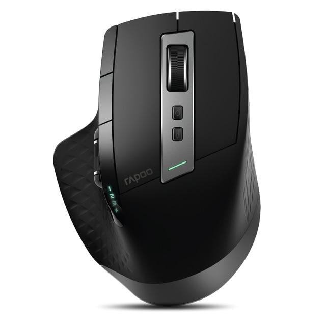 Rapoo souris Gaming sans fil multi mode MT550/MT750S, commutateur Bluetooth 3.0/4.0 et 2.4 ghz pour quatre appareils connexion