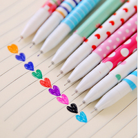 10 PCS Pack Hot Sale Stationery Store Cute Korean School Office Supplies 0 38mm Ink Gel