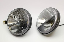 FOR 7 Inches Truck-Lite Style Round Reflection Type LED Headlight For Jeep Wrangler, Harley Davidson, Land Rover