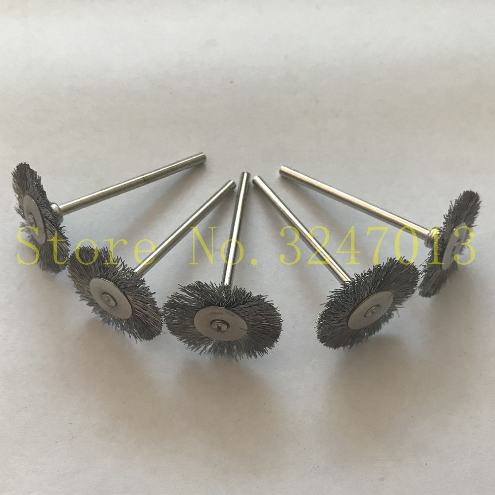 100pcs/set Steel Wire Brush Polishing Wheels Set For Dremel Rotary Tools