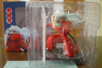 JHACG 19cm Inuyasha Action figure toys doll with box
