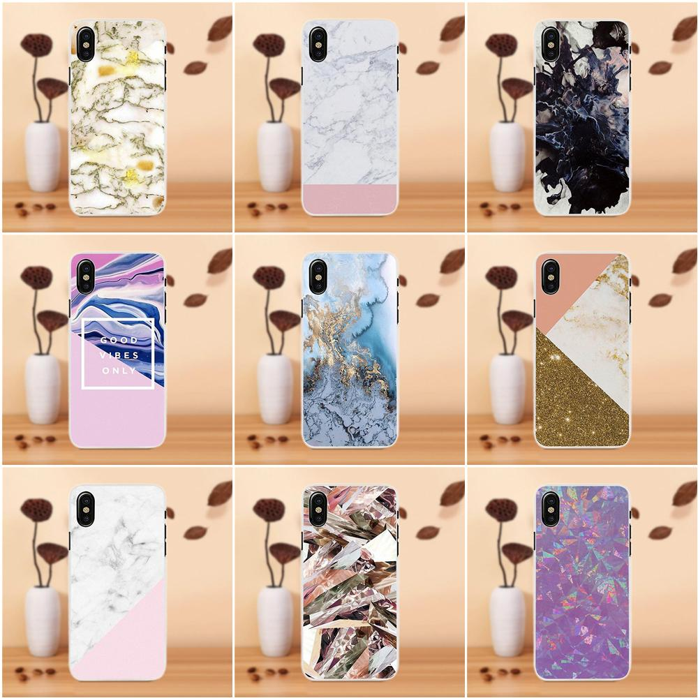 Grunge Marble Pink Weird Soft Silicone TPU Transparent Mobile Shell For Samsung Galaxy A3 A5 A7 J1 J2 J3 J5 J7 2015 2016 2017