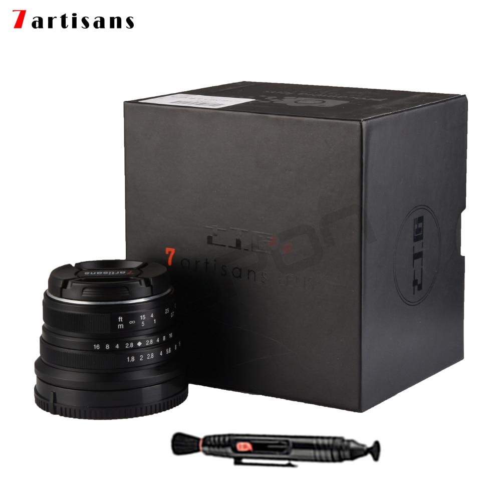 Lente 7artisans 25mm / F1.8 Prime para todas las series individuales - Cámara y foto
