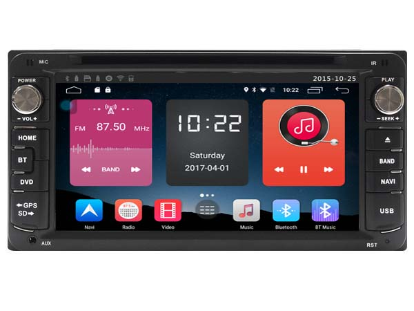 4g lite android 6 0 7 car dvd player stereo media. Black Bedroom Furniture Sets. Home Design Ideas