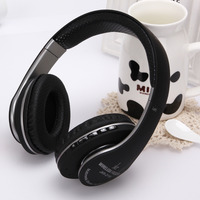 KR 211B Stretchable Wireless Bluetooth Stereo Over Ear Headphone With Mic Support FM TF Card Headset