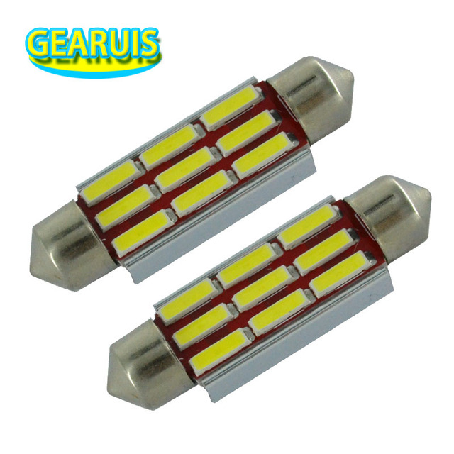 4pcs Car Festoon Dome Light C5W NO Polar 0.11 Ampere 39mm 41mm 9 smd 7020 LED  sc 1 st  AliExpress.com & 4pcs Car Festoon Dome Light C5W NO Polar 0.11 Ampere 39mm 41mm 9 smd ...