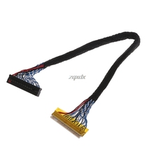 8 Bit LVDS Cable FIX-30 Pin 2ch For 17-26inch LCD/LED Panel Controller 25cm Z17 Drop ship