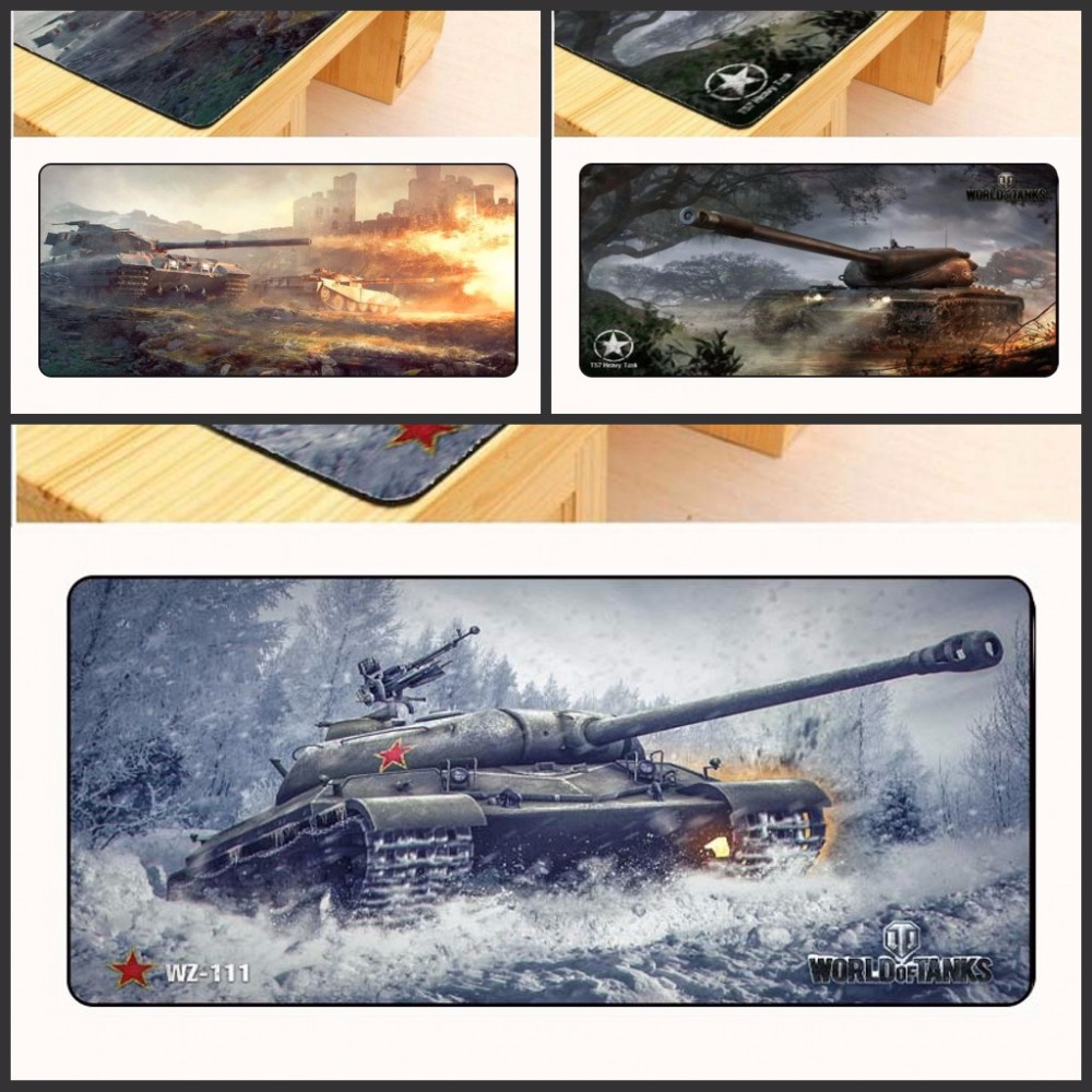 Yuzuoan World of Tanks Padmouse 900x400mm pad to Mouse Notbook Computer Mousepad