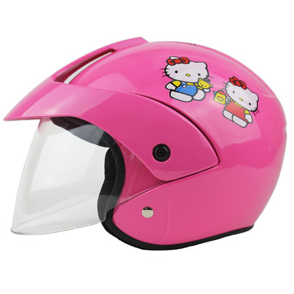 factory outlet kids helmets motorcycle half face electric